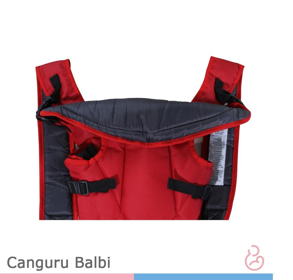 Canguru Balbi - Vermelho Cinza - Galzerano