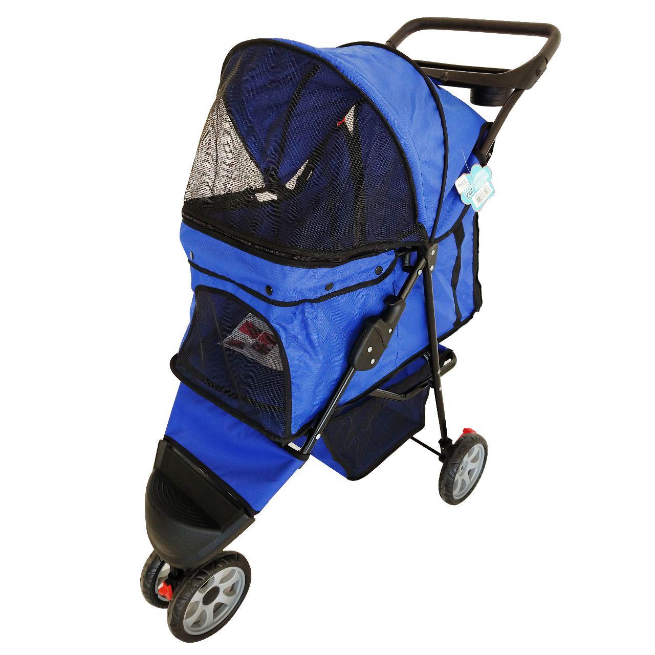 Carrinho Para Cachorro Azul Bic The Babys Pet 10kg