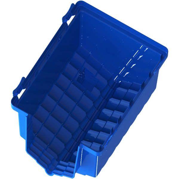 Casa Pet Injet Prime Colors Dog House Evolution - Azul N°4 - A: 69 cm L: 69 cm C: 81 cm