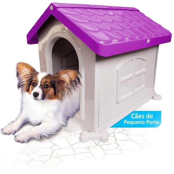 Casa Plastica Pet Injet N2 Lilas L35 x A50 X C45cm