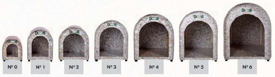 Casinha Iglu Ecológica N°3