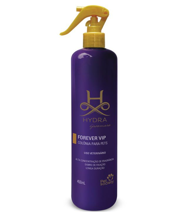 Colônia Pet Society Hydra Groomers Forever Vip 450ml