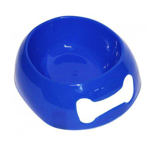 Comedouro Antiderrapante Mr Pet Soft para Cães Filhotes Azul - 250 mL