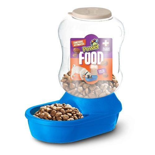Comedouro Automático Power Food Azul 2l