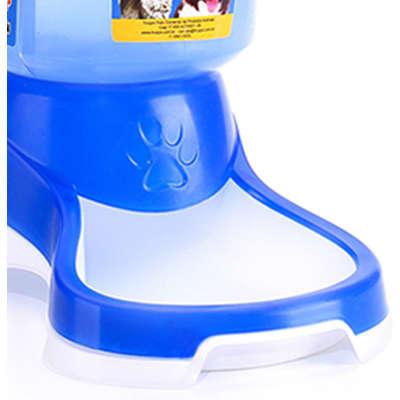 Comedouro Automático Truqys Pets Azul com Galão 1 Kg