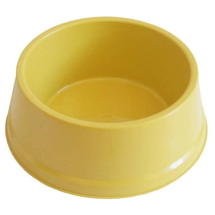 Comedouro Dog Plastico 1600ML - Amarelo