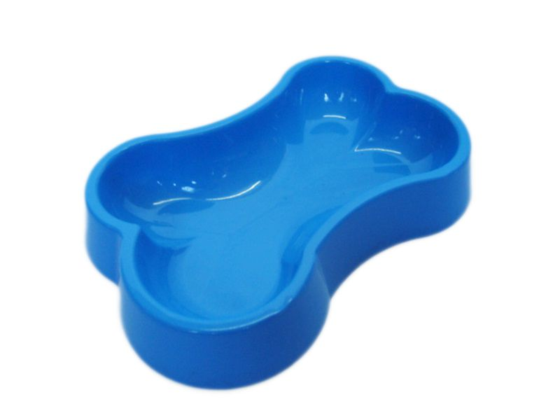 Comedouro My Pet Osso Grande 1L - Azul