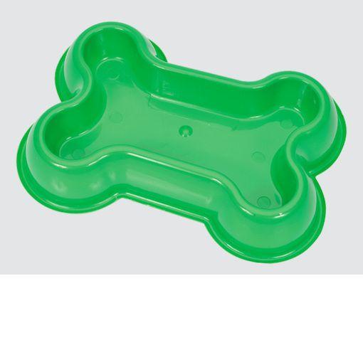 Comedouro My Pet Osso Grande 1L - Verde