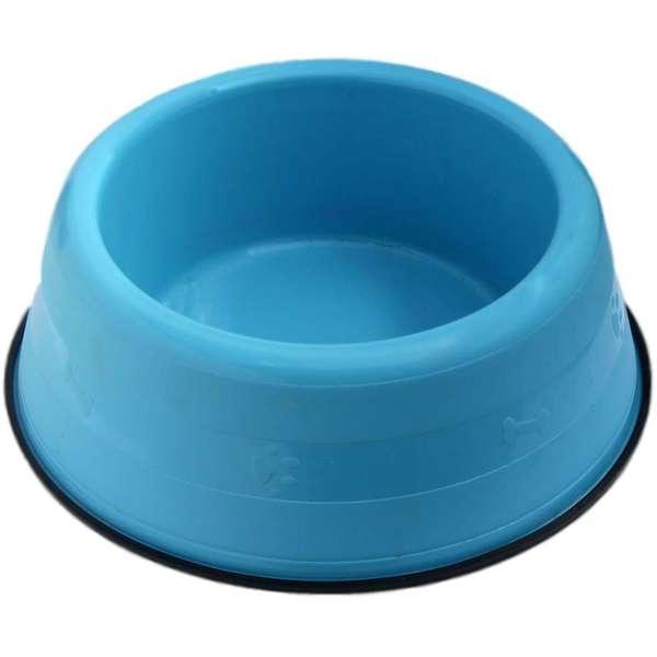 Comedouro Pesado Pata Pequeno 1000ml Azul
