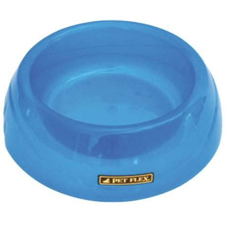 Comedouro Pet Flex Translucido 660mL - Azul