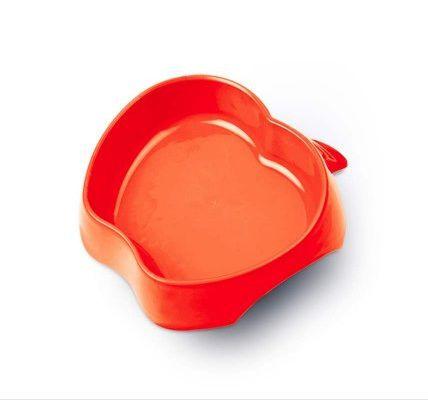 Comedouro Pet Injet Frutal Maca Pequeno Vermelho 350ml