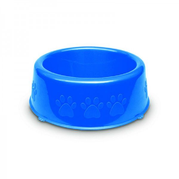 Comedouro Pet Injet Perolizado Luxo Pequenas Racas 600ml  Azul