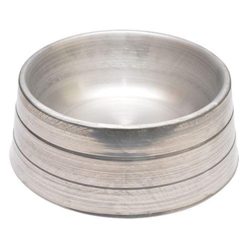 Comedouro Pet Pesado em Alumínio Médio