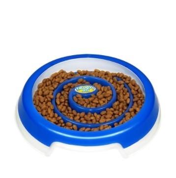 Comedouro Slow Food Grande Azul Truqys