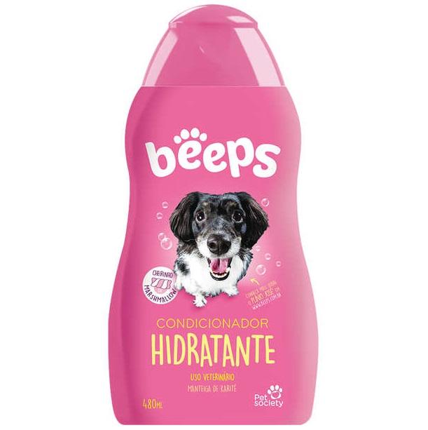 Condicionador Pet Society Beeps Estopinha Hidratante 480ml