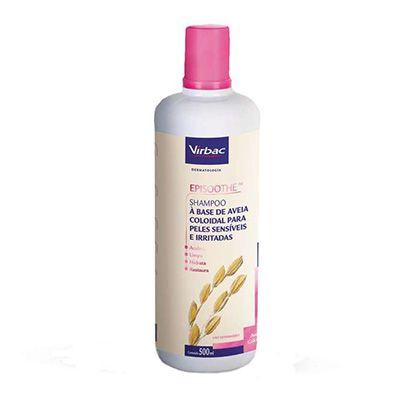 Shampoo Virbac Episoothe para Peles Sensíveis e Irritadas 500ml