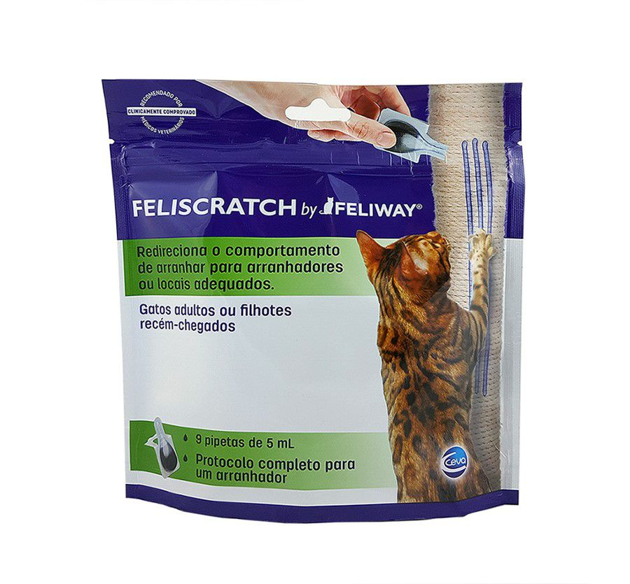 Feliway Feliscratch 9 pipetas Ceva