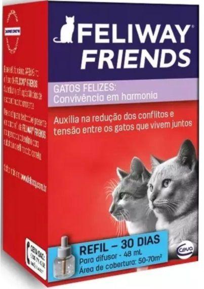 Feliway Friends Ceva Refil 48 ml Para Difusor Elétrico