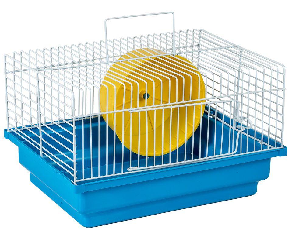 Gaiola Hamster Básica Brasileirinha - 17 cm x 29 cm x 20 cm