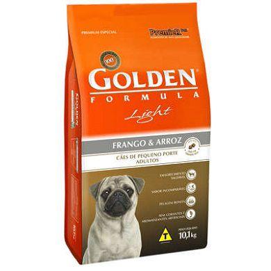 Ração Golden Cães Adultos Light Frango e Arroz Mini Bits - 10,1 KG