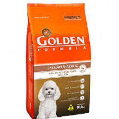 Ração Golden Fórmula Cães Adultos Salmão e Arroz Mini Nits - 10,1 KG