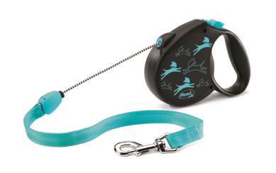 Guia Flexi Color Large Azul Caes 50kg 5mt Corda