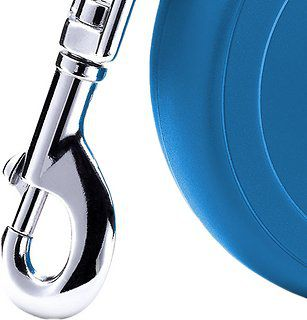 Guia Retrátil Corda Flexi Basic 1 - P 12Kg - 5Mt - Azul