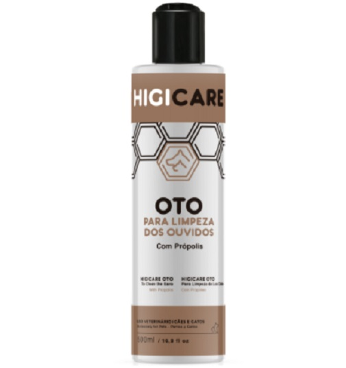 Higicare Oto Limpeza Ouvidos 500ml Pet Smack