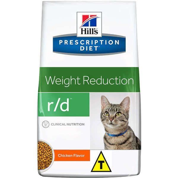 Ração Hills Feline Prescription Diet R/D Perda de Peso - 1,81 Kg