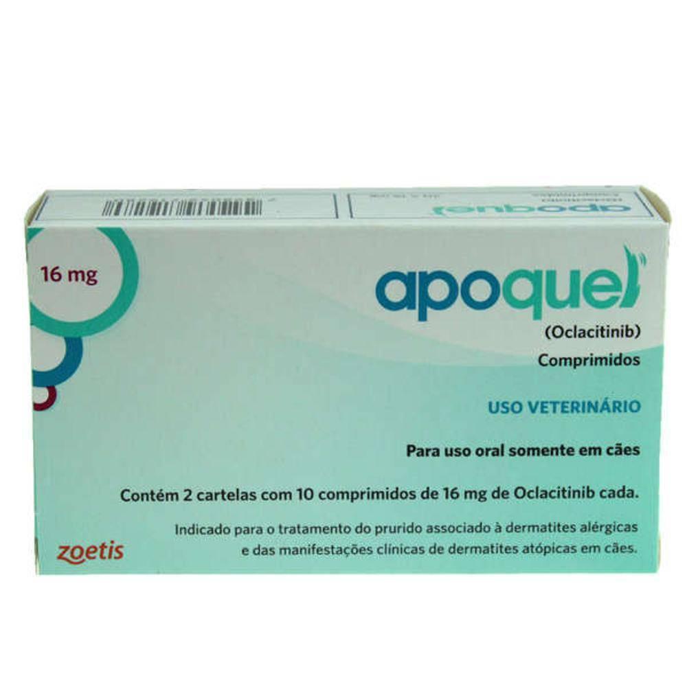 Kit 2 Apoquel 16mg 20 Comprimidos Zoetis