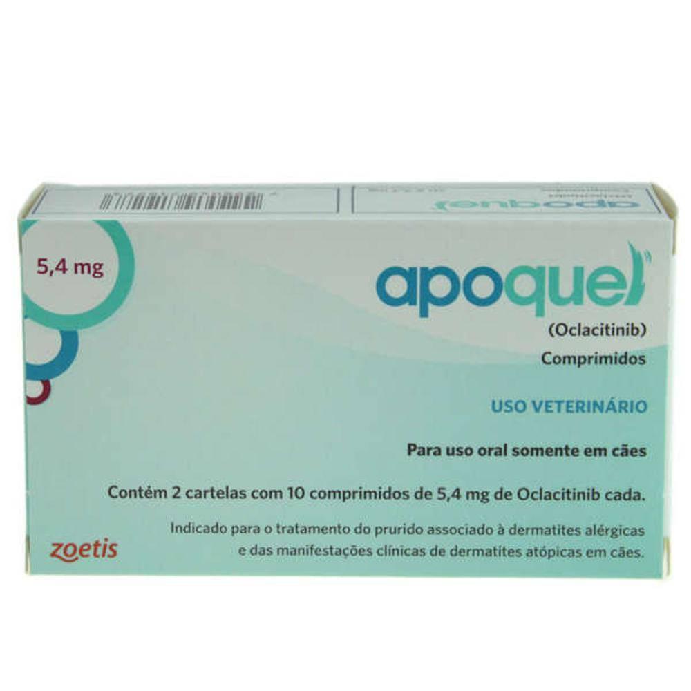 Kit 3 Apoquel 5,4mg 20 Comprimidos Zoetis