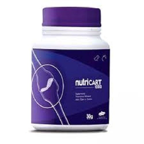 Kit 3 Suplemento Vitamínico Nutripharme Nutricart 1000 - 60 Comprimidos