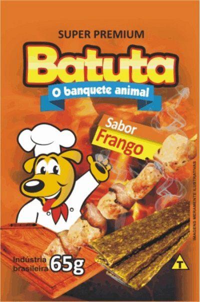 KIT COM 5 BIFINHO BATUTA FRANGO 65G