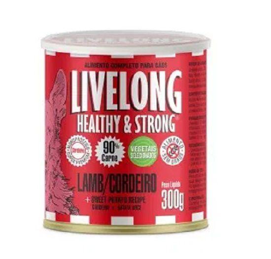 Livelong Cães Lamb (Cordeiro) 300g