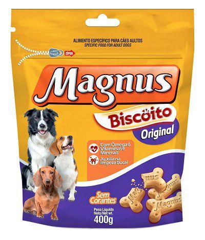 MAGNUS BISCOITO ORIGINAL 400GR