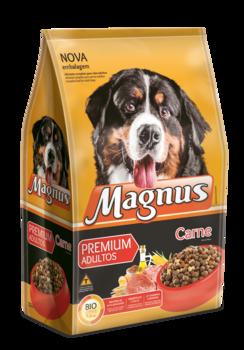 Ração Magnus Premium Cães Adultos Carne - 15 KG