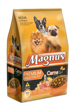 Racao Magnus Premium Com Nuguets Porte Pequeno 15 KG