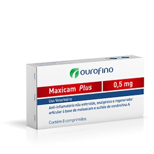Anti-inflamatório Ouro Fino Maxicam Plus 0,5mg - 8 Comprimidos