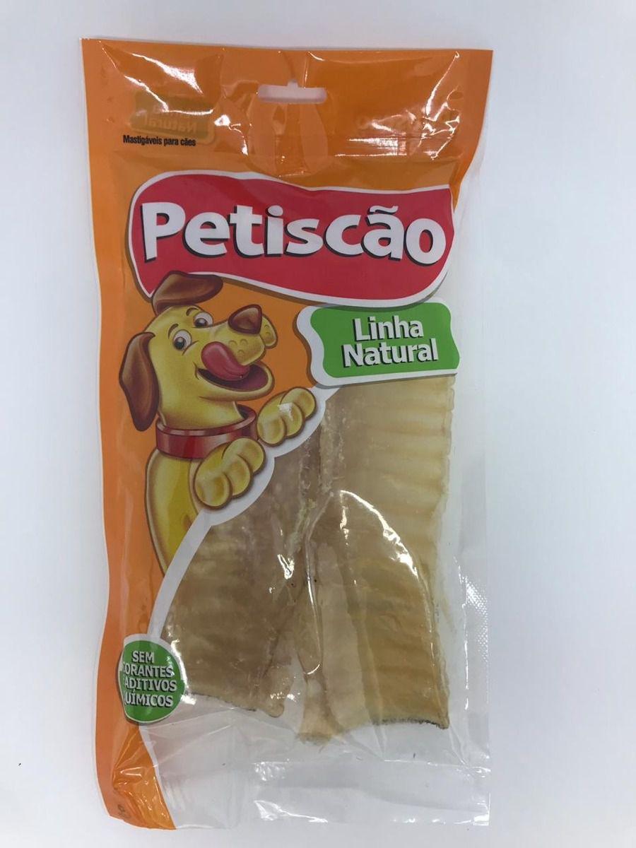 Petisco Dried Traqueia Bovina 150g Petiscao