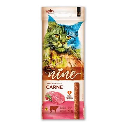 Petisco Stick Nine Cat Spin Pet 20g - Carne