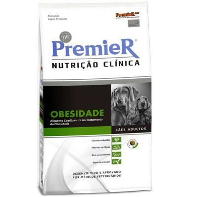 Ração Premier Nutrição Clínica Cães Obesidade Raças Grandes - 10,1 KG