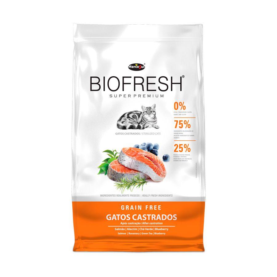 Racao Biofresh Gatos Castrados 7,5Kg Grain Free