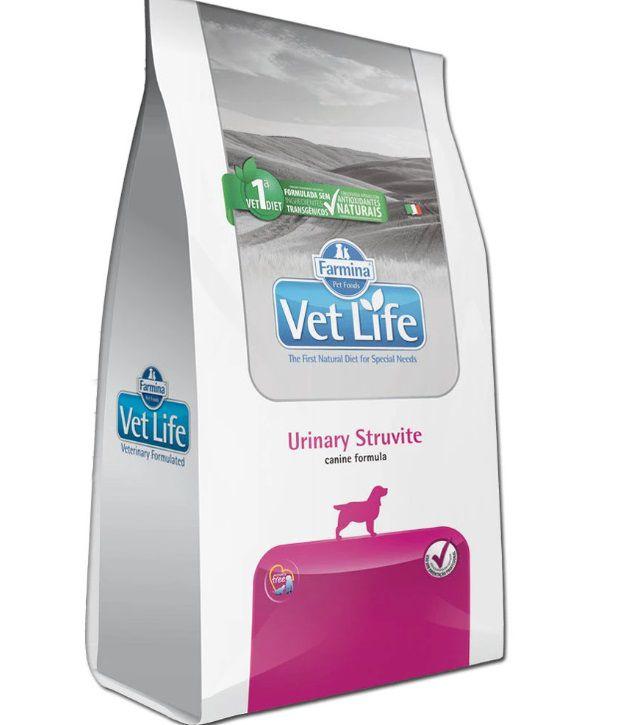 Ração Farmina Vet Life Natural Urinary Struvite Cães Adultos 2kg