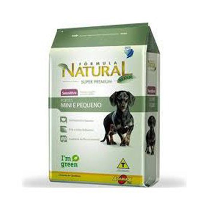 Ração Fórmula Natural Cães Adultos Sensitive Porte Mini Pequeno 7 kg
