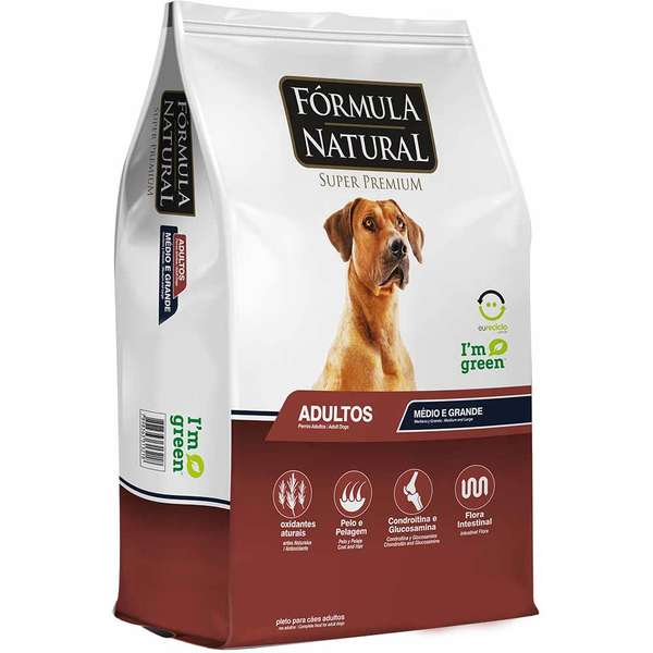 Ração Fórmula Natural para Cães Adultos Porte Médio e Grande - 15 KG