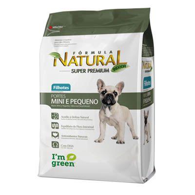 Ração Fórmula Natural para Cães Filhotes de Porte Pequeno e Mini - 1 KG