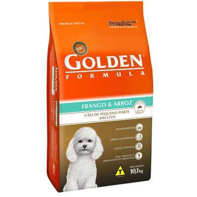 Ração Golden Fórmula Cães Adultos Frango e Arroz Mini Bits - 10 KG