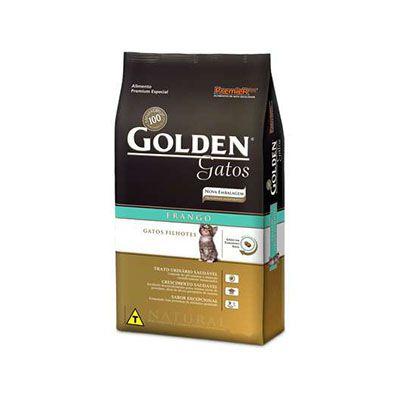 Ração Golden Gatos Filhotes Frango - 10,1 KG