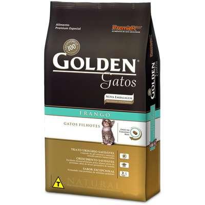Ração Golden Gatos Filhotes Frango - 1 KG
