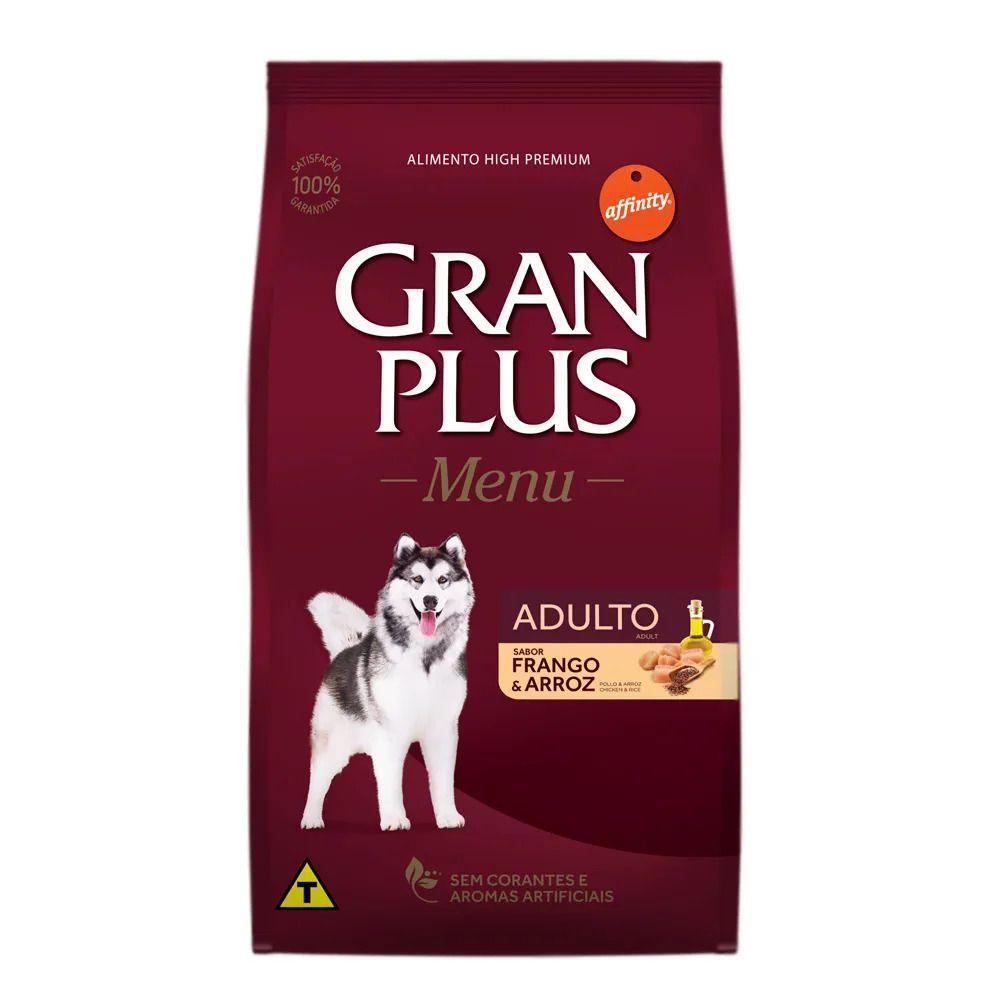 Ração Gran Plus Menu Frango e Arroz Cães Adultos 15Kg